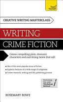 Masterclass Writing Crime Fiction