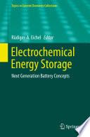 Electrochemical Energy Storage Book PDF