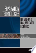 Separation Technologies For Minerals Coal And Earth Resources Book PDF
