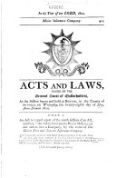 The Laws of the Commonwealth of Massachusetts Book