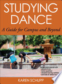 Studying Dance Book