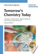 Tomorrow s Chemistry Today