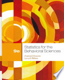 """Statistics for the Behavioral Sciences"" by Frederick J Gravetter, Larry B. Wallnau"