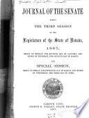 The Journal of the Senate     of the Legislature