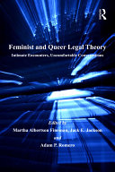 Pdf Feminist and Queer Legal Theory