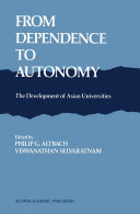 From Dependence to Autonomy
