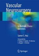 Vascular Neurosurgery Book