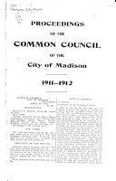 Proceedings Of The Common Council