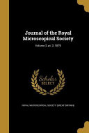 Journal Of The Royal Microscop
