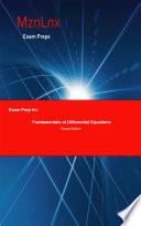 Exam Prep for: Fundamentals of Differential Equations