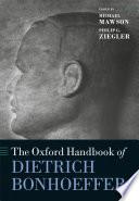 The Oxford Handbook of Dietrich Bonhoeffer Book PDF