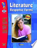 Literature Response Forms Gr  4 6