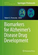 Biomarkers for Alzheimer s Disease Drug Development Book