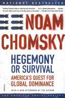 Pdf Hegemony or Survival