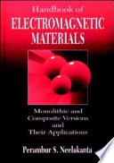 Handbook of Electromagnetic Materials Book