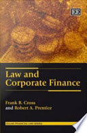 Law and Corporate Finance