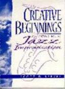 Creative Beginnings