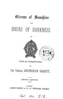 Pdf Gleams of sunshine for hours of darkness, by E.M.
