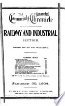 The Commercial & Financial Chronicle  : Railway and industrial compendium