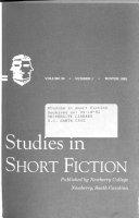 Studies in short fiction