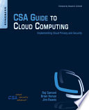 Csa Guide To Cloud Computing Book PDF