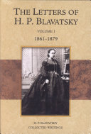 The Letters of H  P  Blavatsky