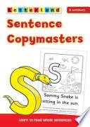 Books - Letterland Sentence Copymasters | ISBN 9781862094222