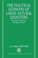 The Political Economy of Large Natural Disasters