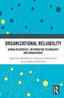 Organizational Reliability Book