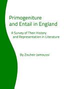 Primogeniture and Entail in England