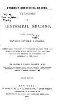 Exercises in Rhetorical Reading
