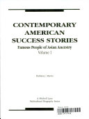 Contemporary American Success Stories Book