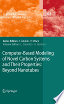 Computer Based Modeling of Novel Carbon Systems and Their Properties