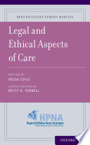 Legal and Ethical Aspects of Care