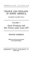 France and England in North America: Count Frontenac and New France under Louis XIV