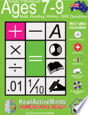 Year 3  Ages 7 9 Math  Reading  Writing Practice Workbook   HomeSchool Ready  3000 Questions