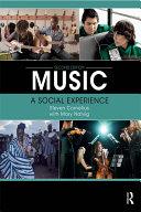 Music: A Social Experience [Pdf/ePub] eBook