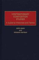 Contemporary Composition Studies