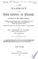A New Harmony Of The Four Gospels In English Book PDF