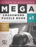 Simon   Schuster Mega Crossword Puzzle Book  1