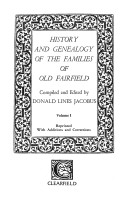 History and Genealogy of the Families of Old Fairfield