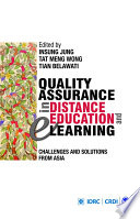 Quality Assurance in Distance Education and E-learning