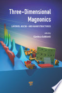 Three Dimensional Magnonics Book