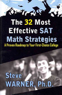 The 32 Most Effective SAT Math Strategies Book