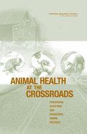 Animal Health at the Crossroads