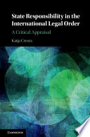 State Responsibility in the International Legal Order