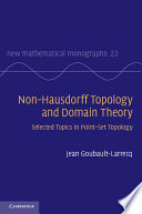Non Hausdorff Topology and Domain Theory Book