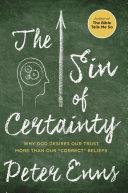 The Sin of Certainty [Pdf/ePub] eBook