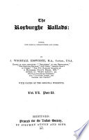 The Roxburghe Ballads Book