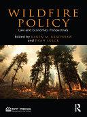 Pdf Wildfire Policy